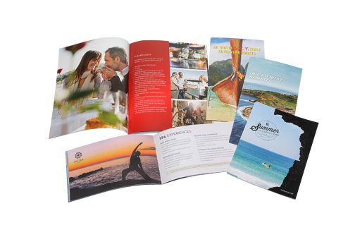 Offset printing, saddle stitch catalog