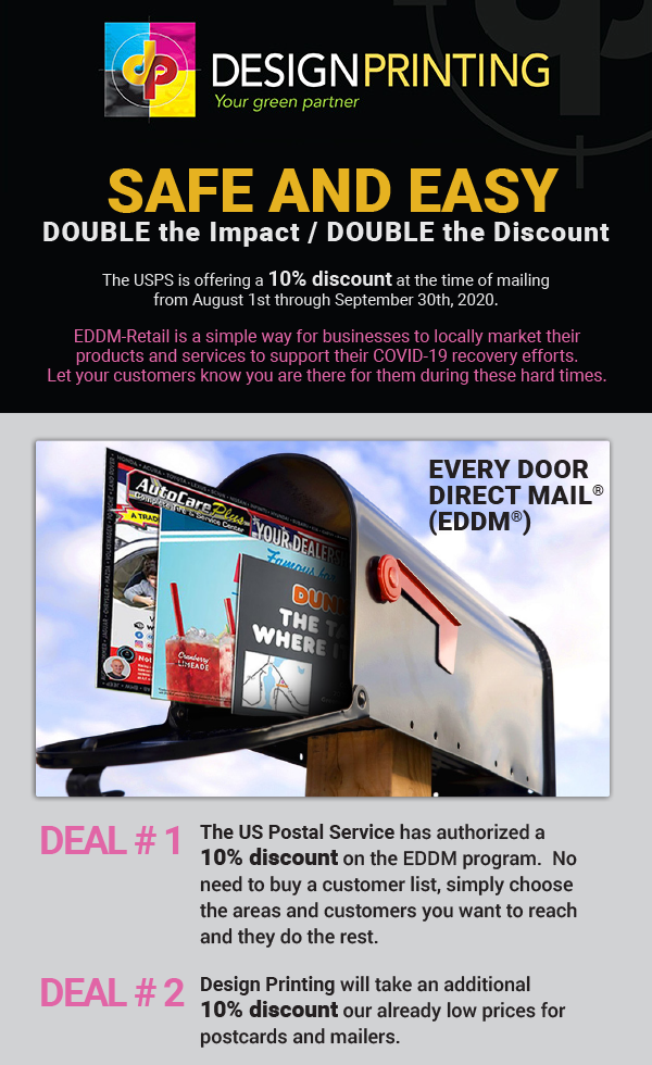 EDDM® - Double Impact and Savings