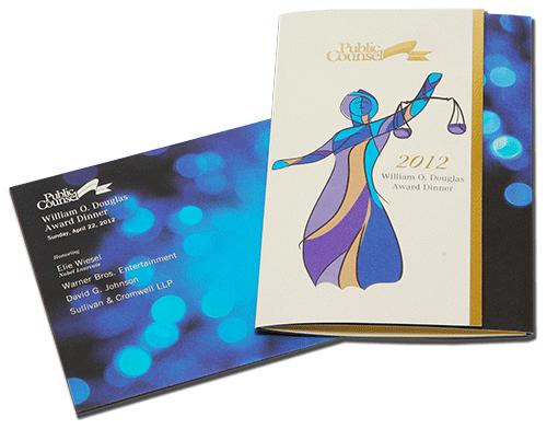 Invitation, Folding, Custom Envelope, Metallic Foils