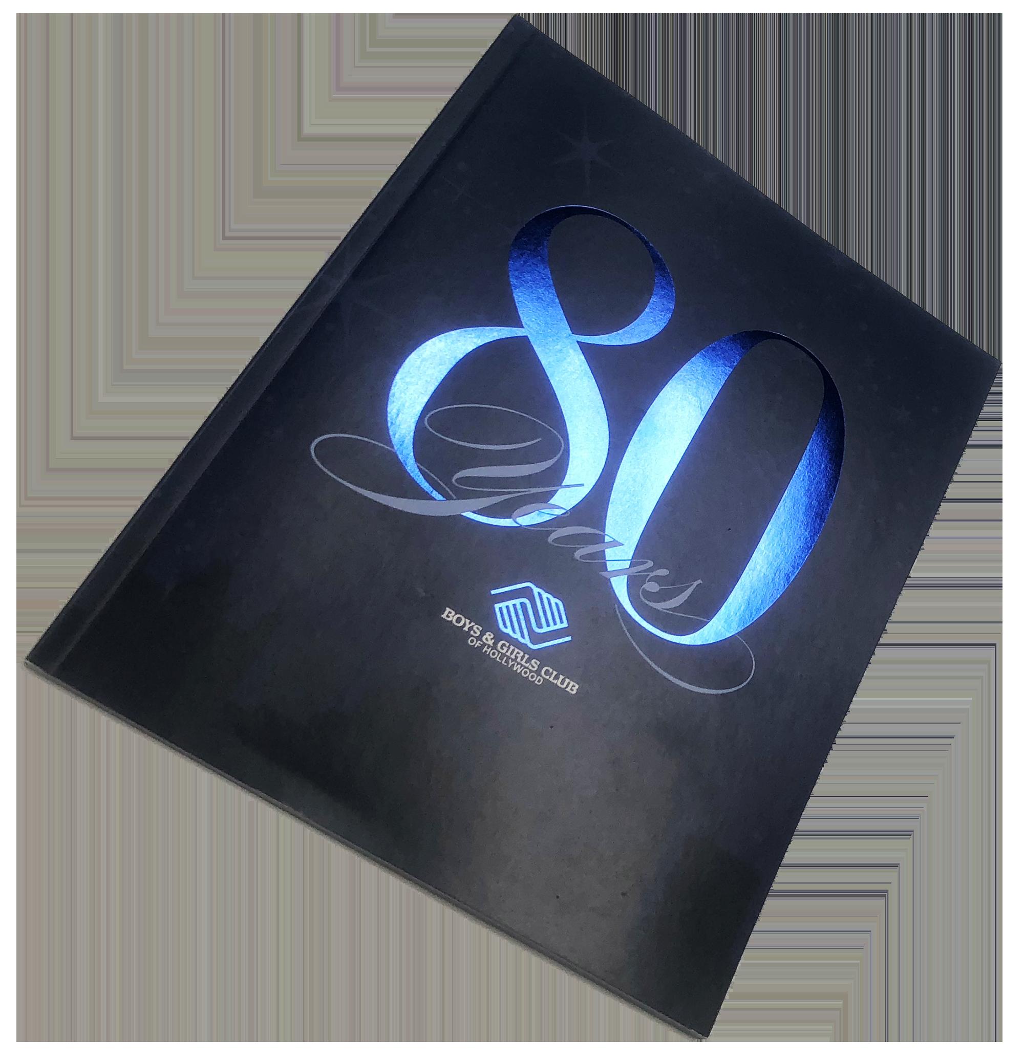 Booklet Print Sample, Digital Print, Perfect Bind, Foil Printing, 4 color