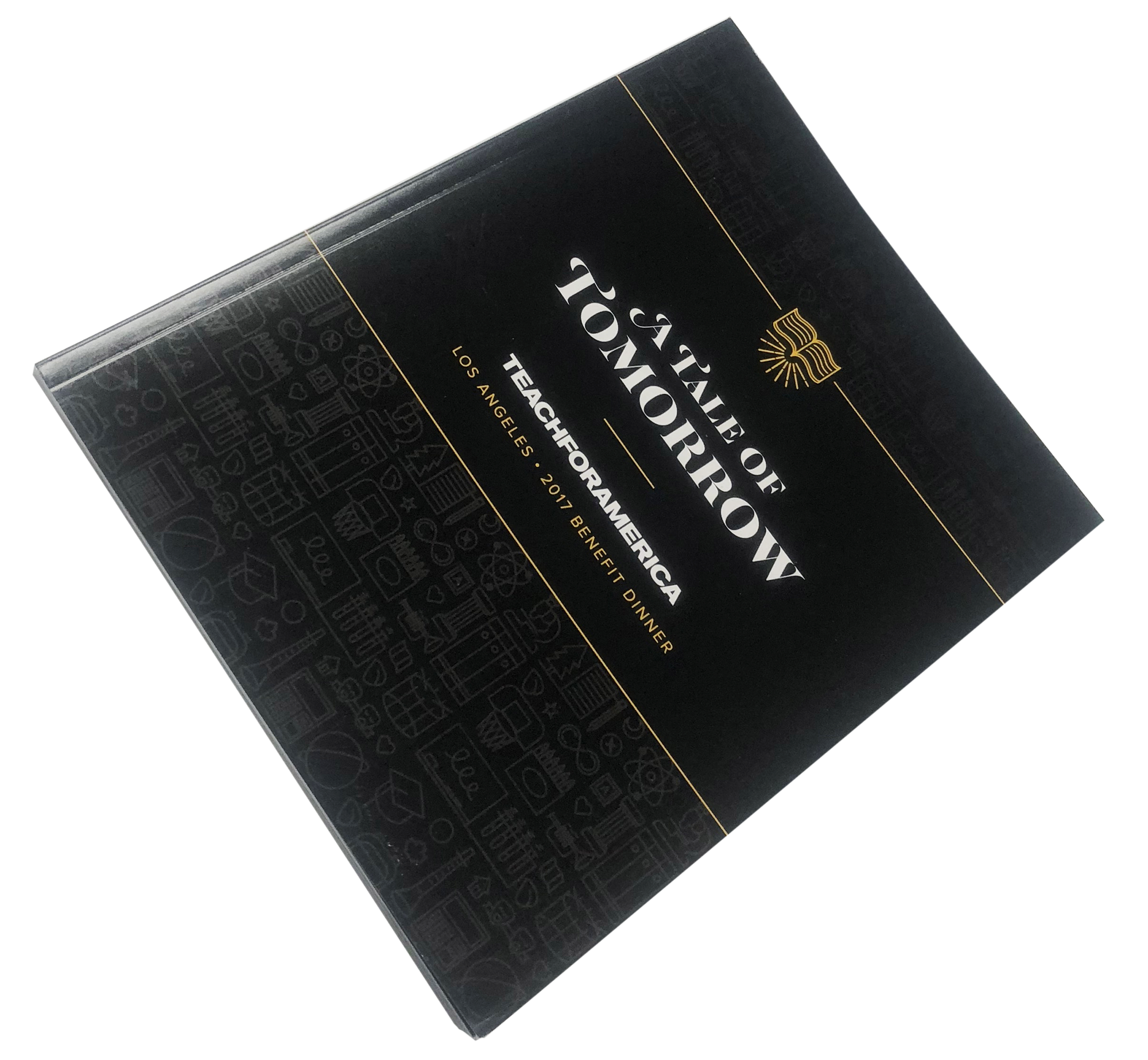 Catalog, Program Print Sample, Perfect Bound, 4 Color