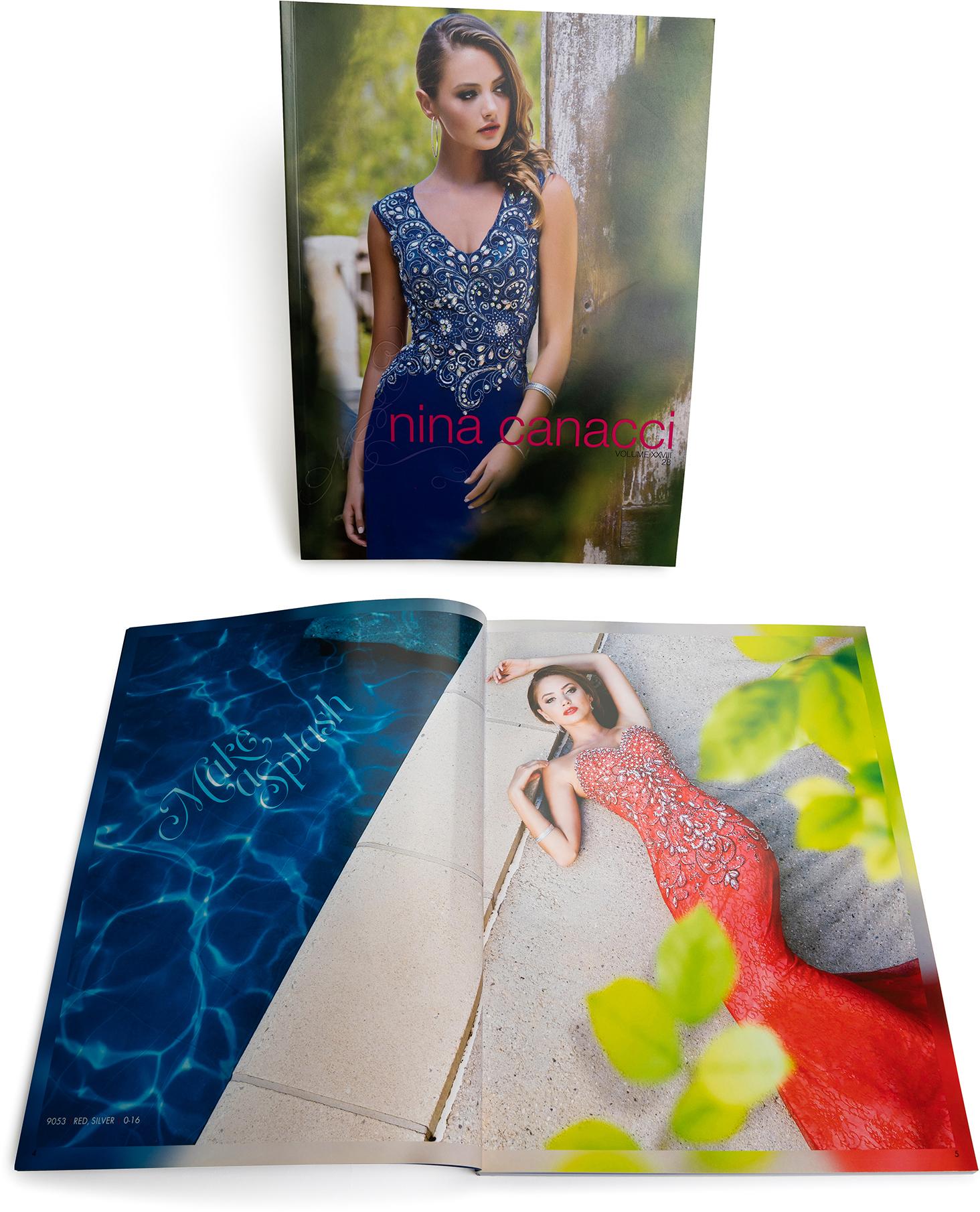 Fashion perfect bind, catalog, offset