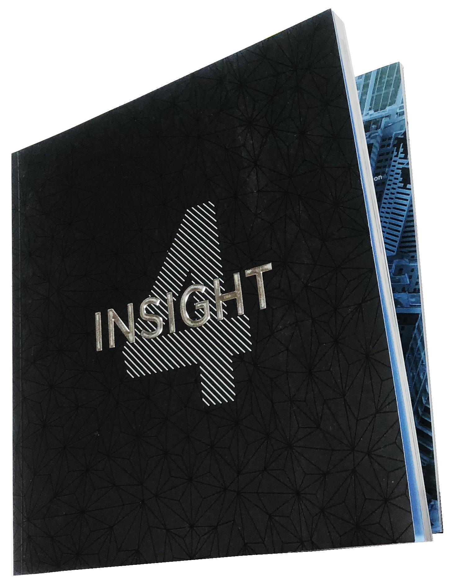 Ad Book, Tribute Book, Embossed, Metallic Ink, Foil, Perfect Bound, Print Sample