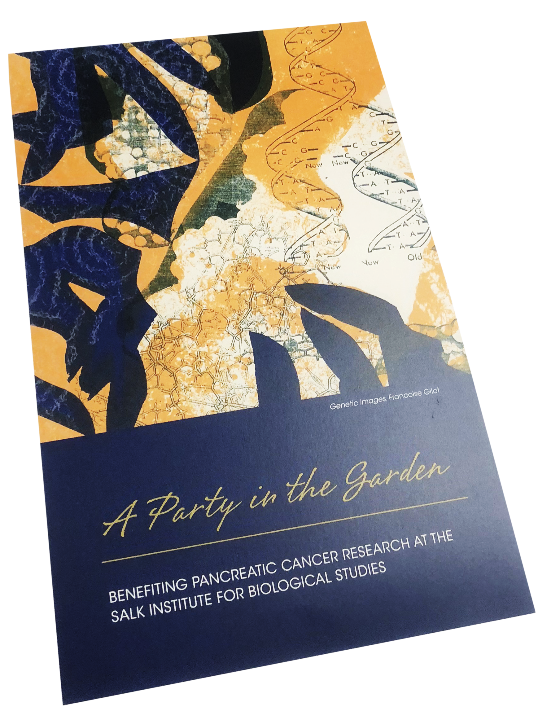 Invitation, 4 Color, Digital, Folded, Print Sample