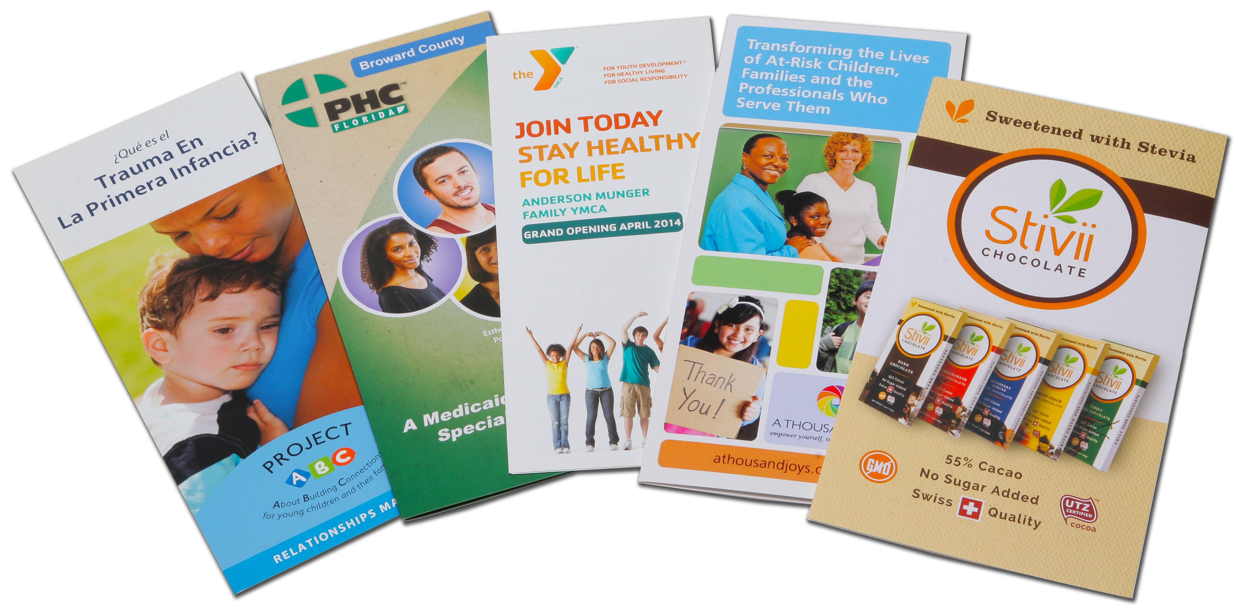 Brochure, Multi-fold
