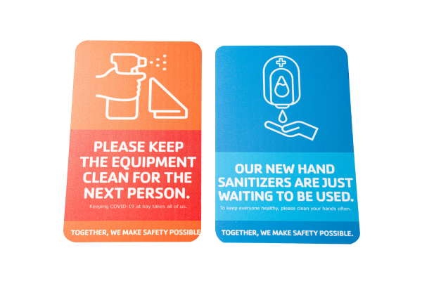 COVID-19 Health Care Safety Vinyl Cling