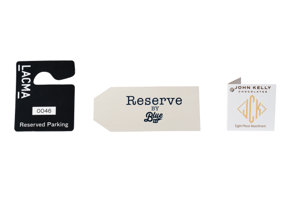 Product Packaging Labels and Hang Tags