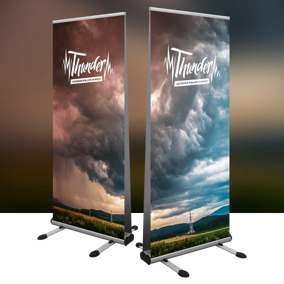 Retractable Banner - Large Format Signage