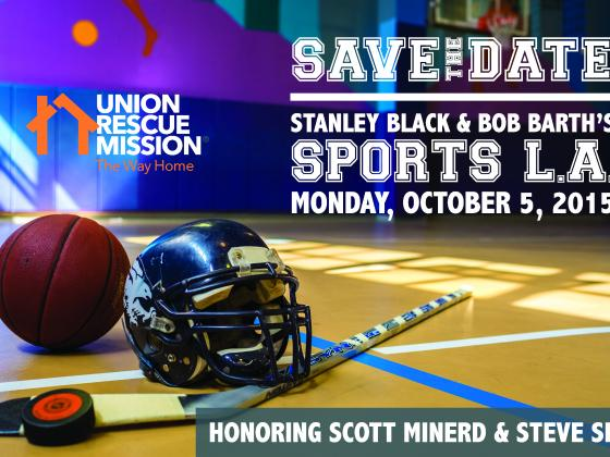 Save the Date card Union Rescue