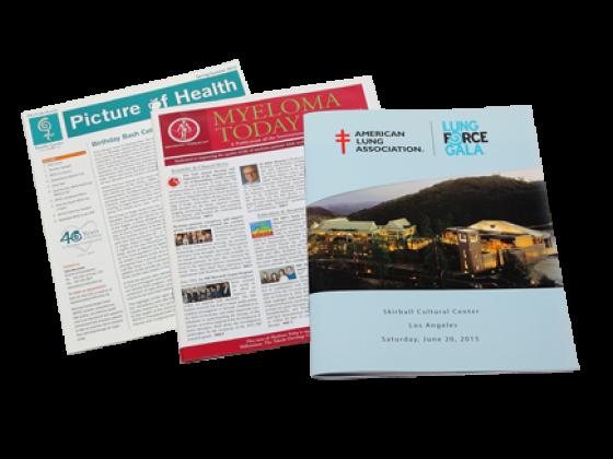 Newsletters, Booklets, Programs