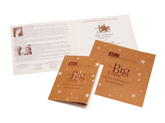 Invitation, booklet