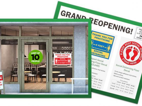 Every Door Direct Mail (EDDM) Design Printing postcard