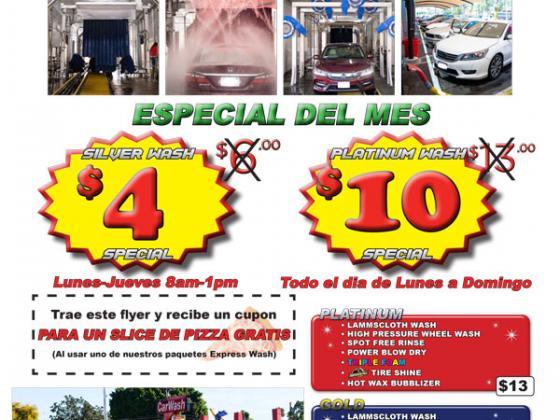EDDM mailer car wash service