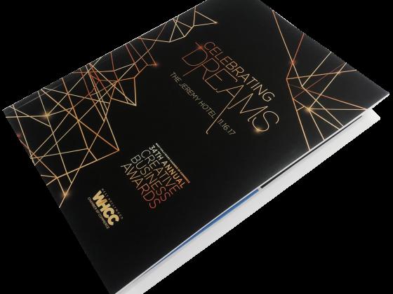 Booklet Print Sample, Booklet, Digital Print, Perfect Bound