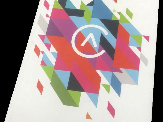 Program Print Sample, Booklet, Perfect bound