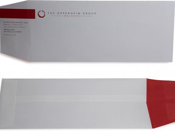 Custom envelope, digital