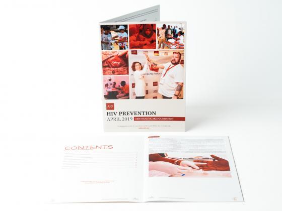Healthcare Service Brochure Perfect Bound