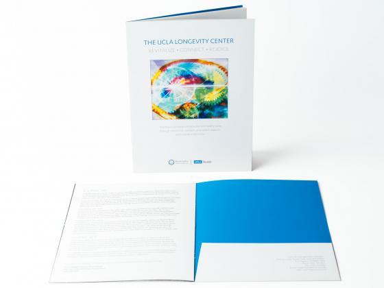 Health Science Medicine Presentation Folder