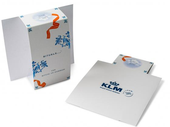 Airline Travel Food Services Sleeve Packaging