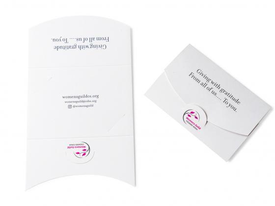 Nonprofit Donation Gift Card Holder