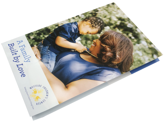 Digital Brochure Folded - Print Sample - Children's Center