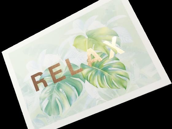 Postcard, Metallic Foil, 4 Color, Digital, Print Sample