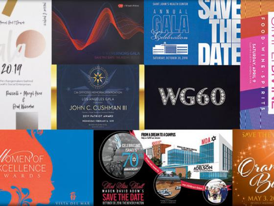 Save Your Next Event | Design Printing
