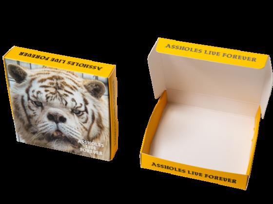 Custom Branded Box Package
