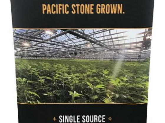 Retractable Banner - Cannabis Industry Large Format Signage