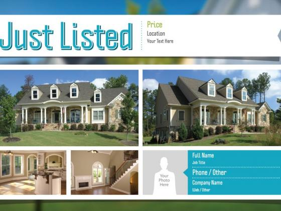Every Door Direct Mail (EDDM) real estate postcard